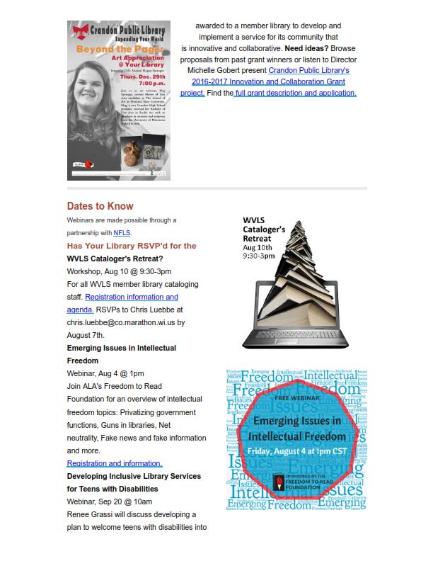 WVLS Newsletter 14 July 28 2017 P2