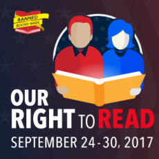 Sep 24-30 is ALA Banned Books Week