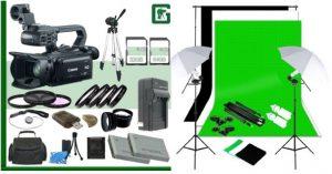 Canon Camcorder XA 20 Videorecording Studio Kit