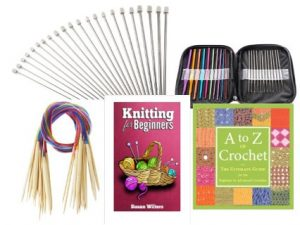 Knitting Crochet Kit