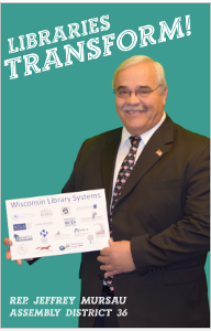 Rep Mursau Libraries Transform Poster
