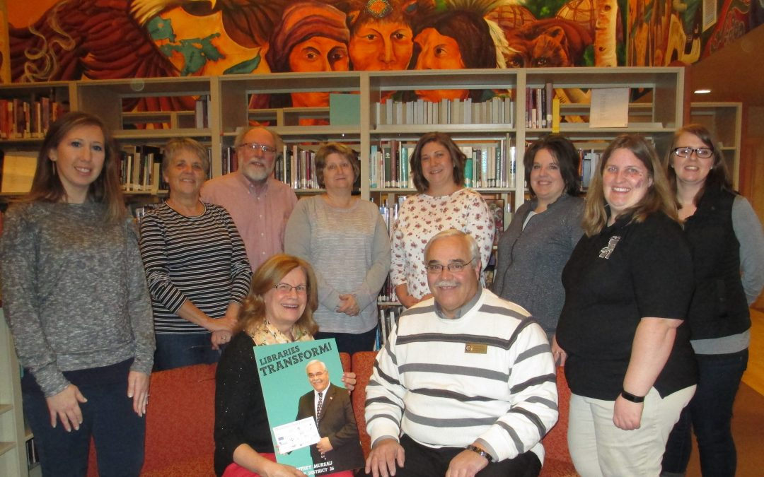 Rep. Mursau Thanked by Forest County Library Board