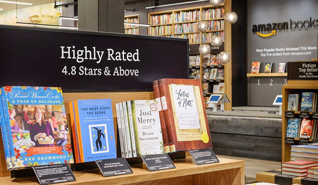 New Amazon Bookstores: Libraries Can Borrow Amazon Service Techniques
