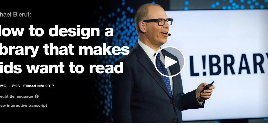 Ted Talk: How to design a library that makes kids want to read