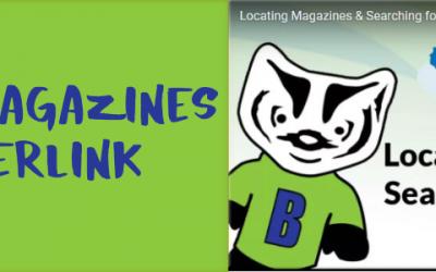 Locating Magazines in Badgerlink: Yoga Journal, Money, even Highlights!