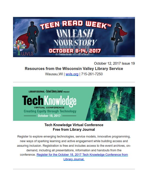 WVLS Newsletter 19 October 12 2017 001