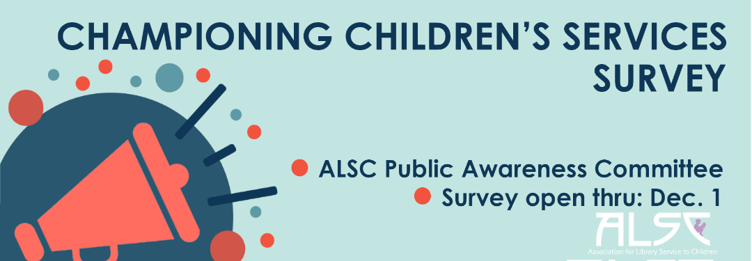 Championing Children's Services: Take the Survey – Enter by December 1 to a Win Prize!