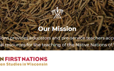 Explore Wisconsin First Nations!