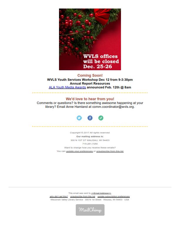 WVLS Newsletter 23 December 8 2017 Page 5