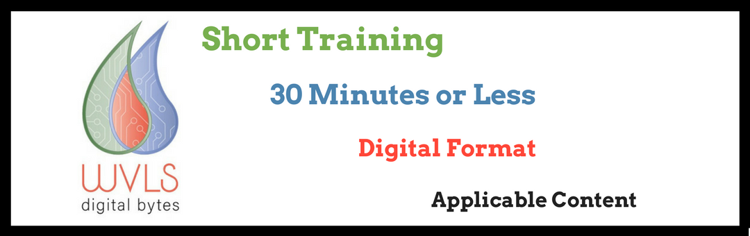 Digital Bytes: Bite-Sized Training Coming Next Week