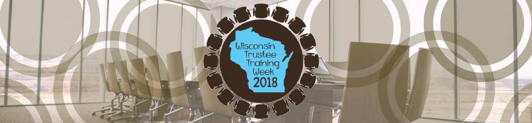 Trustee Training Week 2018
