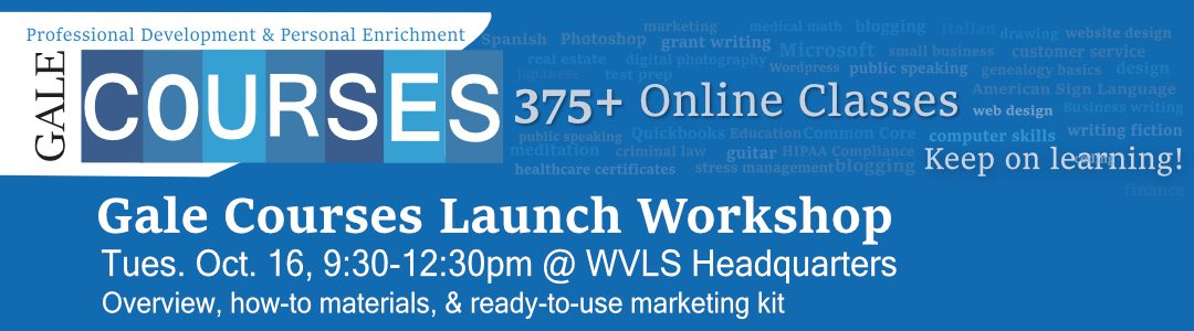 Gale Courses Launch Workshop