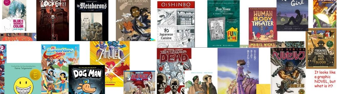 Graphic Novels and Manga