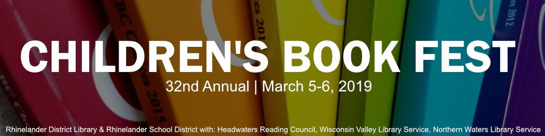 32nd Annual Children's Book Fest Scheduled for March 5 and 6