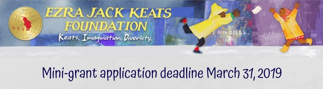 Ezra Jack Keats Mini-Grants Now Available