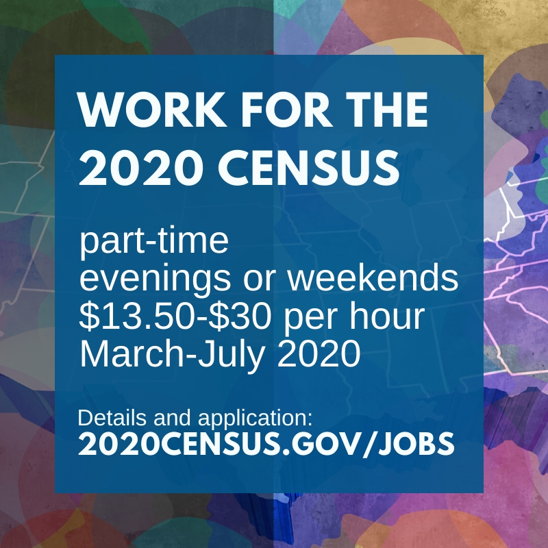 2020 Census: Work for the Census