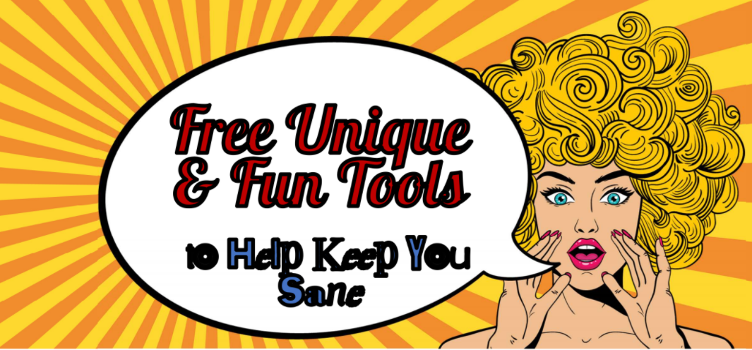 """Free and Unique Tools"" Webinar"