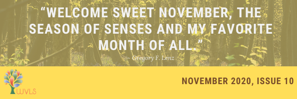 November Newsletter Available