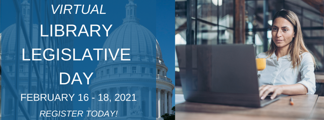 Registration Open for Virtual Library Legislative Day